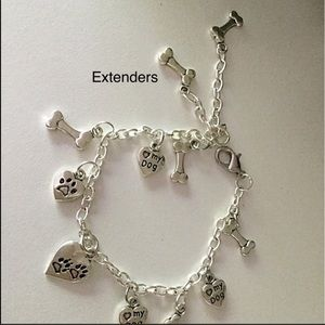 Bracelet, or anklet, for dog lovers!